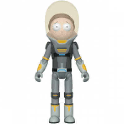 Funko Rick & Morty Action Figure Space Suit Morty 10 cm
