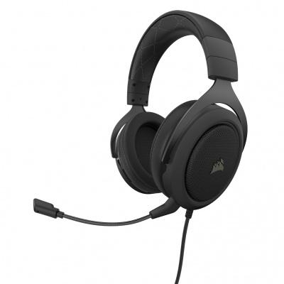 Corsair HS60 Pro 7.1 Virtual Surround Gaming Headset 3.5mm Jack - Carbon