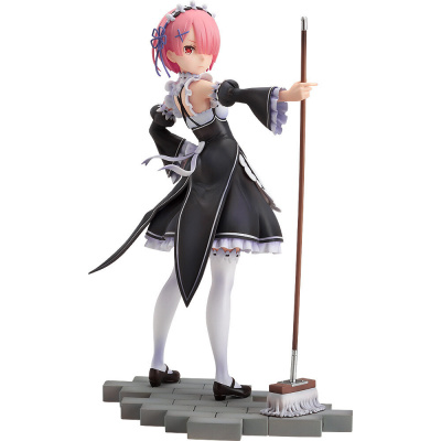 Re:Zero Starting Life in Another World: Ram 1:7 Scale PVC Statue