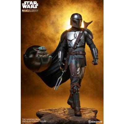 Star Wars: The Mandalorian Premium 1:4 Scale Statue