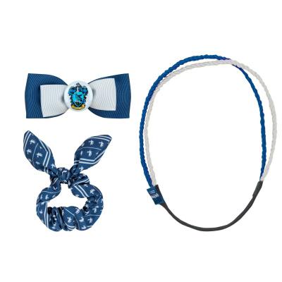 Harry Potter: Ravenclaw Trendy Scrunchy Bunny Ear Clip Headband Set