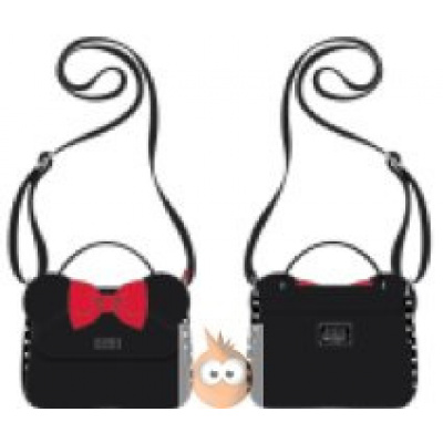Loungefly Minnie CrossBody with Ears and Bow