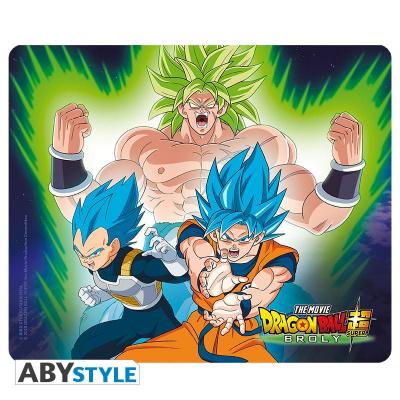 DRAGON BALL BROLY - Mousepad - Broly VS Goku & Vegeta