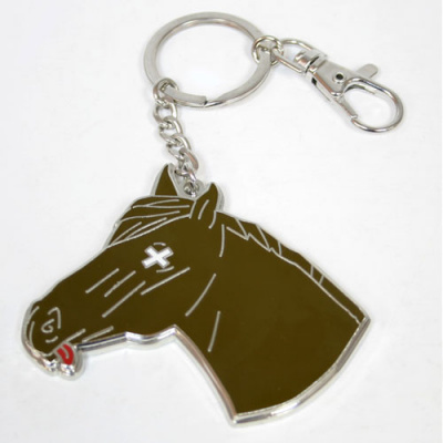 The Godfather: Horse Head Snap Keychain