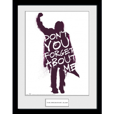 The Breakfast Club: Don't You Forget About Me Collector Print