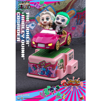 DC Comics: Suicide Squad - Joker and Harley Quinn 5 inch CosRider