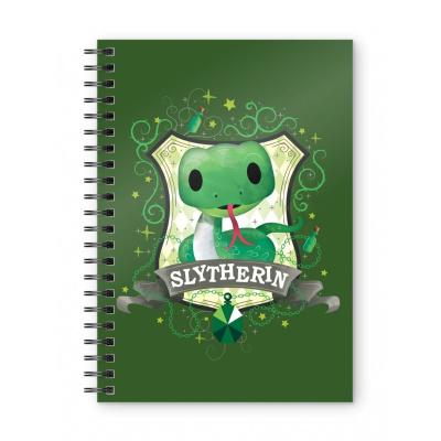 Harry Potter: Slytherin Spiral Notebook