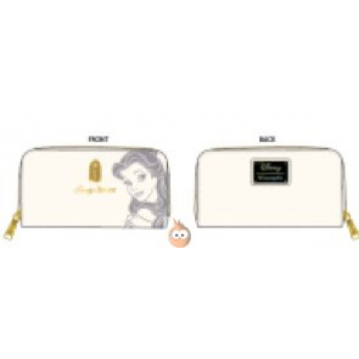 Loungefly Belle Embossed Charm Wallet