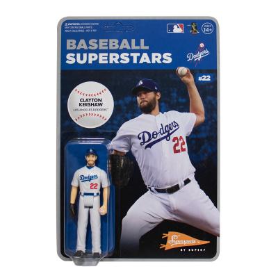 MLB Modern Wave 1: Los Angeles Dodgers - Clayton Kershaw 3.75 inch ReAction Figure