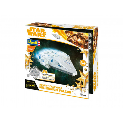 Star Wars Solo advent calendar Build & Play