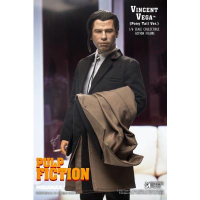 Pulp Fiction: Deluxe Vincent Vega 2.0 Ponytail Version 1:6 Scale Figure
