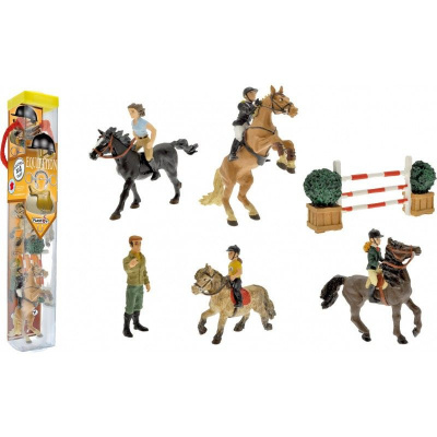 Horseback Riding: Figure Tube 10-Pack