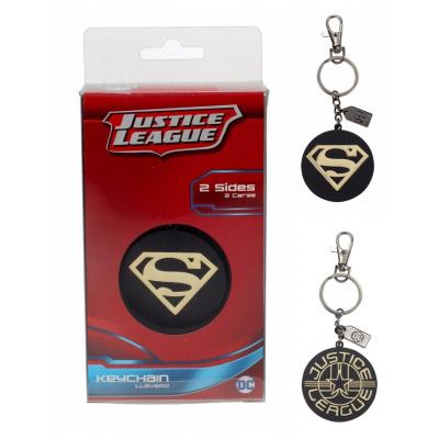 DC Comics: Superman Golden Logo Metal Keychain