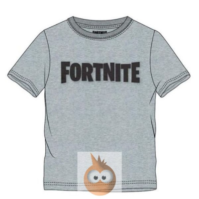 Fortnite Logo Grey - Kids T-Shirt (164cm/14y)
