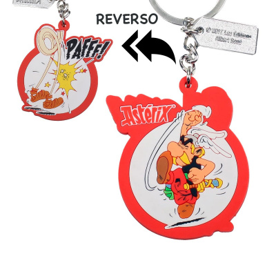 Asterix: Asterix Pafff Rubber Keychain