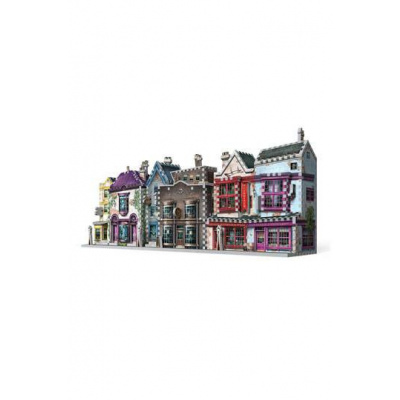 Harry Potter Puzzle 3D DAC Quality Quidditch Supplies & Slug & Jiggers Apothecary