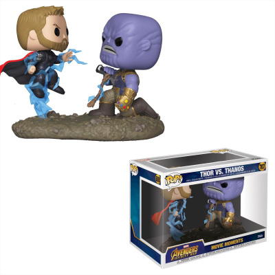 Funko Pop Marvel Avengers Infinity War Movie Moments Thor vs. Thanos