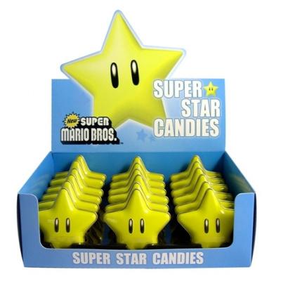 Nintendo Super Star Candies