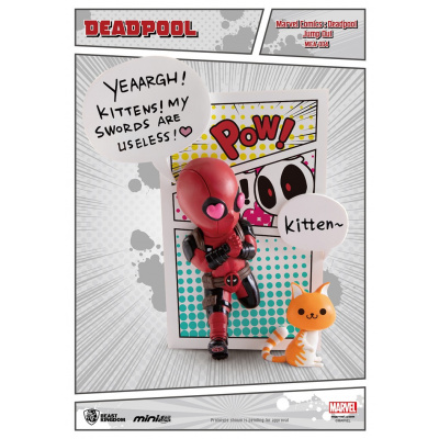 Marvel: Deadpool Jump out 4th Wall Figurine