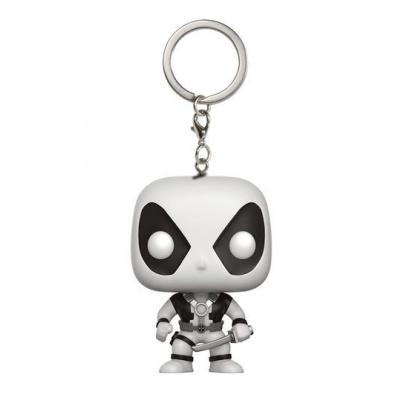 Marvel Comics Pocket POP Vinyl Keychain Deadpool X-Force Limited 4 cm