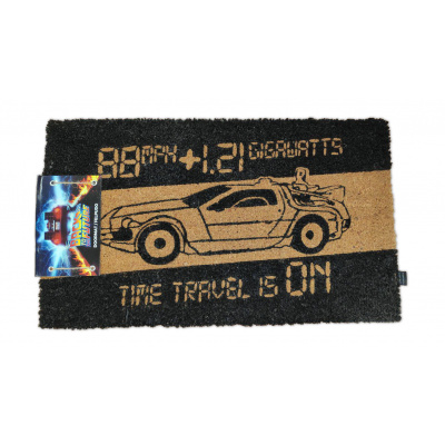 Back to the Future: Time Machine 60 x 40 cm Doormat