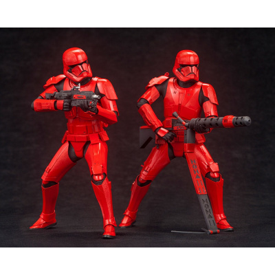 Star Wars: The Rise of Skywalker - Sith Trooper ARTFX+ Statue 2-Pack