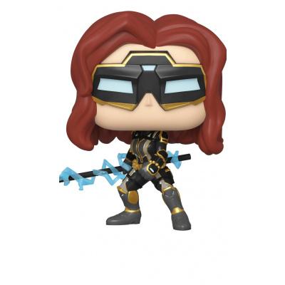 Pop! Marvel: Avengers Game - Stark Tech Suit Black Widow with Glow