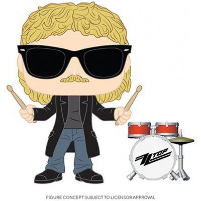 POP Rocks: ZZ Top- Frank Beard