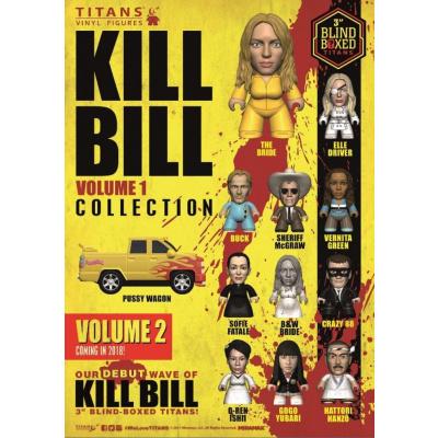 Quentin Tarantino TITANS: Kill Bill Volume 1 - 18 piece CDU