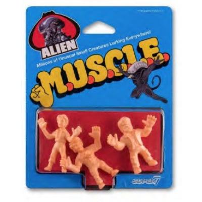Alien: 1.75 inch Muscle Figures 3 figure Set - Wave 1 Pack D