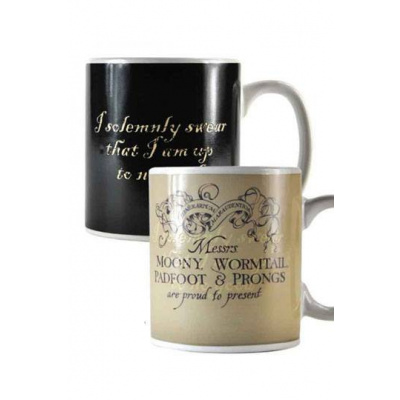 HARRY POTTER - Heat Changing Mug - 400 ml - Marauder's Map