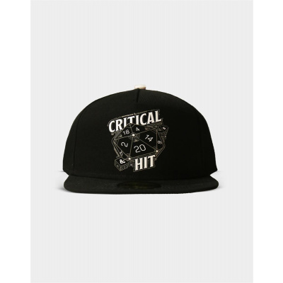 Dungeons and Dragons: Critical Hit Snapback Cap
