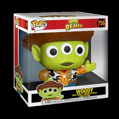 POP Disney: Pixar Alien Remix - 10 Inch Woody