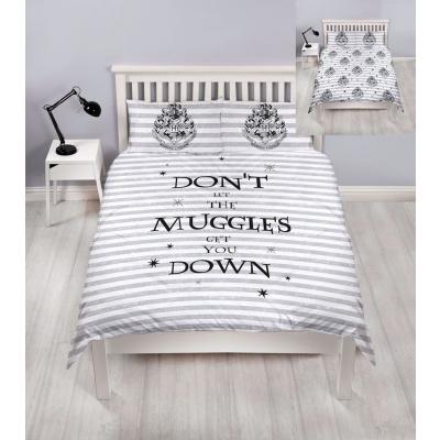 Harry Potter: Muggles Double Reversable Duvet Set