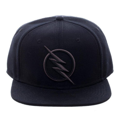 Black FLash Logo Snapback