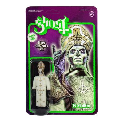 Ghost figurine ReAction Papa Emeritus III Glow in the Dark 10 cm