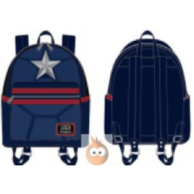 Loungefly Captain America Cosplay Mini BackPack