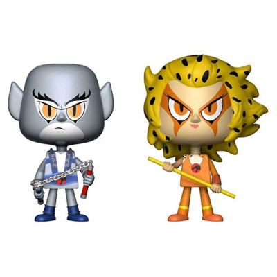 Thundercats Panthro & Cheetara Vynl.