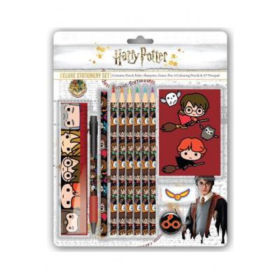 Harry Potter 12-Piece Stationery Set Kawaii