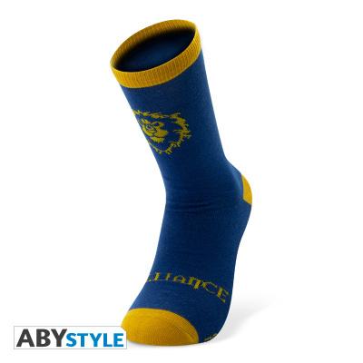 WORLD OF WARCRAFT - Socks - Blue & Yellow - Alliance
