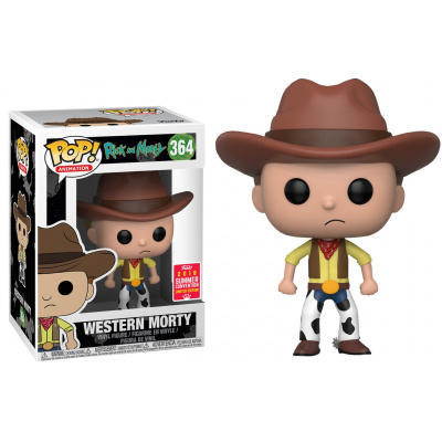 POP Vinyl: Rick & Morty: Cowboy Morty (Exc)