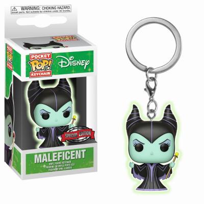 Pocket Pop Keychain: Disney - Maleficent GitD LE