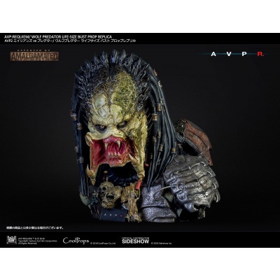 Alien vs Predator - Requiem: Wolf Predator Life Sized Bust