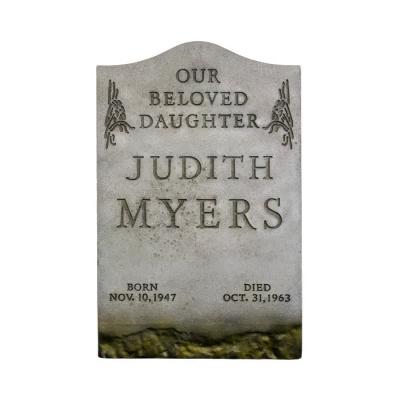 Halloween: Judith Myers Tombstone Prop Replica