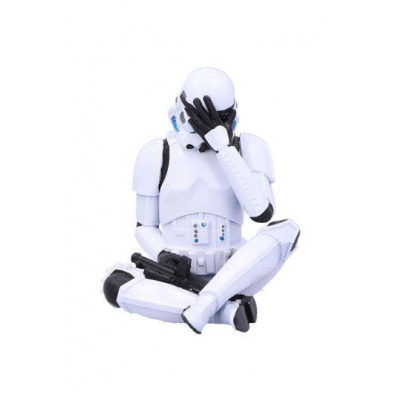 Stormtrooper figurine See No Evil Stormtrooper 10 cm