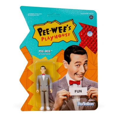 Pee-Wee's Playhouse: Pee-Wee 3.75 inch ReAction Figure