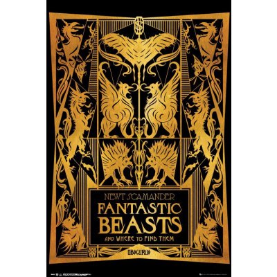 Fantastic Beasts 2: Book Cover 92 x 61 cm Poster