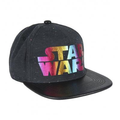 Star Wars Snapback Cap Galaxy Logo