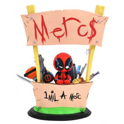 Marvel Animated: Deadpool Merc for Hire Statue