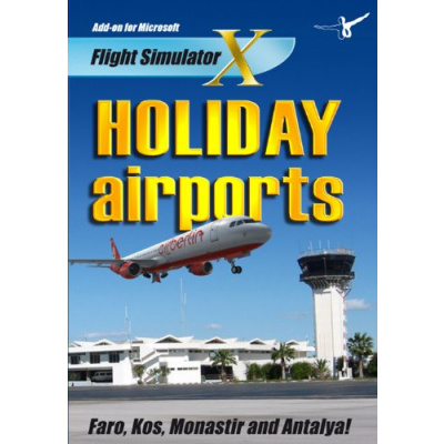 Holiday Airports 1 (FS X + FS 2004 Add-On) PC